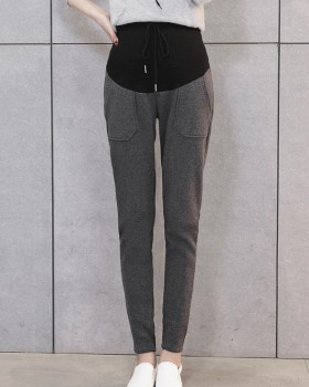 Autumn and winter Korean style high waist carrot pants