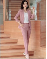 Profession long sleeve uniform fashion pants 2pcs set
