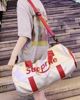 Couples travel shoes sports personality messenger bag