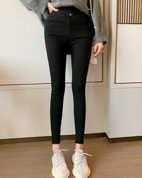 Hollow leggings cross pencil pants for women