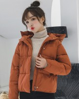 Down loose bread clothing short Korean style cotton coat