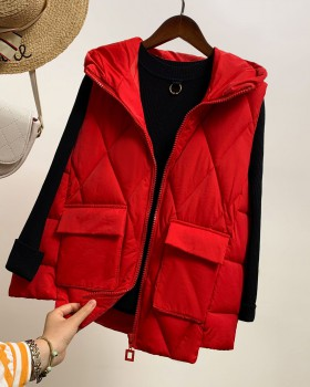 Korean style autumn and winter coat short student waistcoat