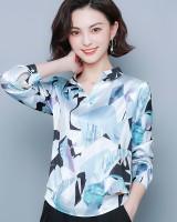 Colors loose tops autumn shirt for women