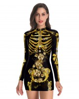 Halloween party dress tight sexy skirt for women