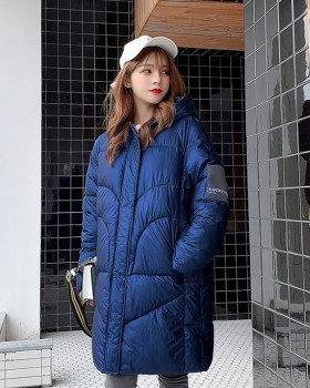 Korean style cotton coat bread clothing for women