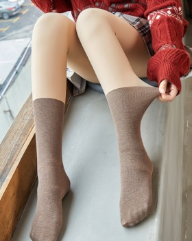 Plus velvet spring and autumn tights double stockings