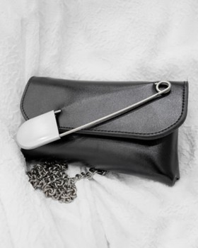 Shoulder personality bag pin collocation removable belt for women