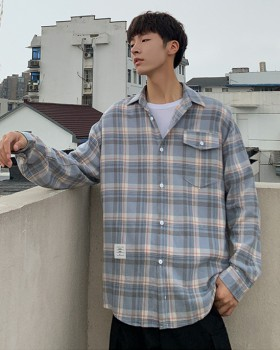 Korean style Japanese style shirt fashion coat