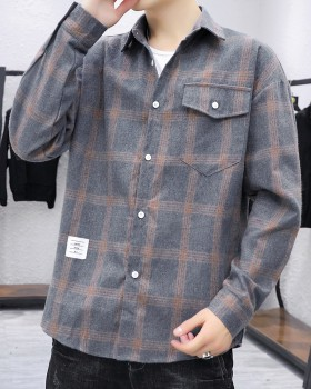 Loose autumn long sleeve Japanese style fashion all-match shirt
