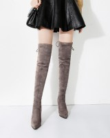 Exceed knee high-heeled boots sexy thigh boots