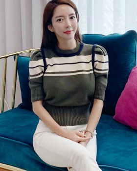 Temperament knitted winter sweater for women