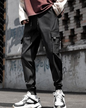 Sports autumn fashion long pants nine tenths loose work pants