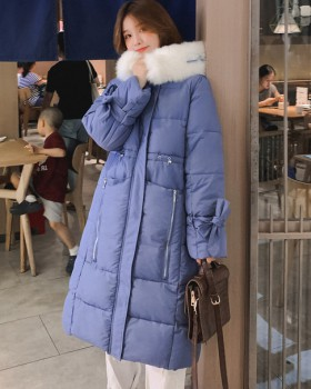Korean style summer coat fashion white down coat for women