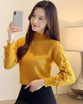 Winter frenum sweater thick Korean style tops for women