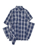 Plaid slim autumn conventional all-match personality shirt