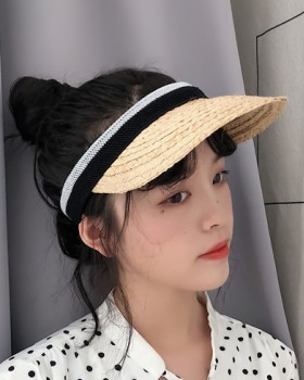 Shade sun fashion hat all-match vacation hair band for women