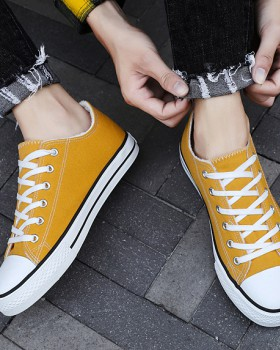 Classic fashion winter shoes Korean style cotton canvas shoes