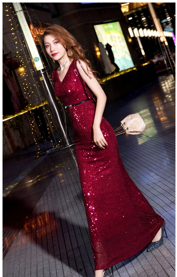 Annual meeting evening dress dress for women