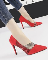 Rhinestone high-heeled shoes shoes for women