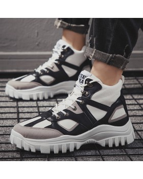 High-heeled Sports shoes Korean style shoes for men