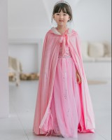 Big thermal dust-proof child multicolor cloak