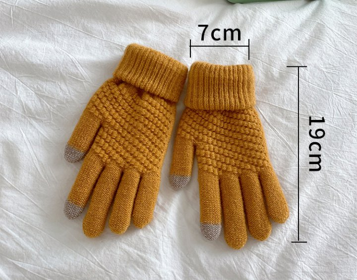 Retro fashion all-match Gloves for women