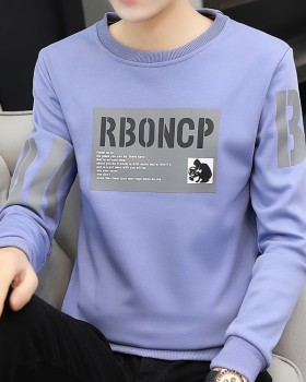 Long sleeve Casual tops thermal bottoming shirt for men