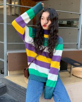 Long sleeve pullover Korean style sweater for women