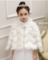 Autumn and winter child coat colors thermal cloak
