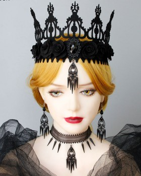 Masquerade imperial crown perform accessories
