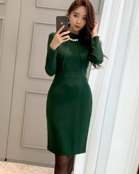 Fashion package hip slim Korean style dress for women