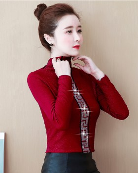 European style autumn and winter liangsi bottoming shirt for women