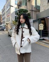 All-match Korean style college style jacket for women