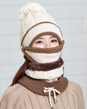 Earmuffs Korean style hat thermal thick mask for women