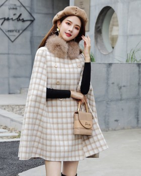 Temperament coat autumn and winter overcoat for women