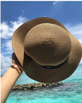 Vacation summer fashion pure Casual hat for women
