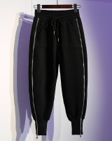 Loose autumn and winter harem pants thick sweatpants