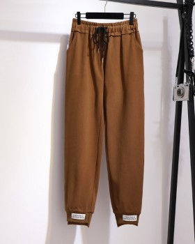 Loose sweatpants work clothing for women