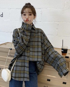 Bat sleeve long sleeve coat Korean style shirt
