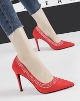 Low pointed shoes slim high-heeled shoes for women