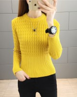 Autumn and winter slim sweater bottoming tops