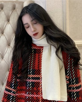 Thermal woolen yarn sweater autumn and winter thick scarves