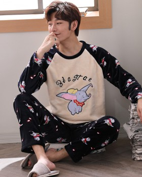 Korean style couples homewear pajamas a set