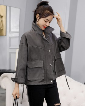 Korean style spring student coat all-match short jacket