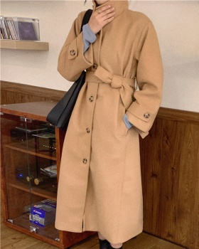 Fashion long overcoat winter all-match woolen coat