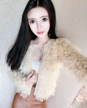 Korean style knitted coat spring cardigan
