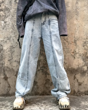 Straight pants street Japanese style jeans