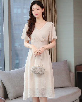 France style sweet dress fashionable long dress for women