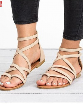 European style spring and summer sandals for women