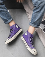 Reflective ink shoes spring and autumn canvas shoes for men
